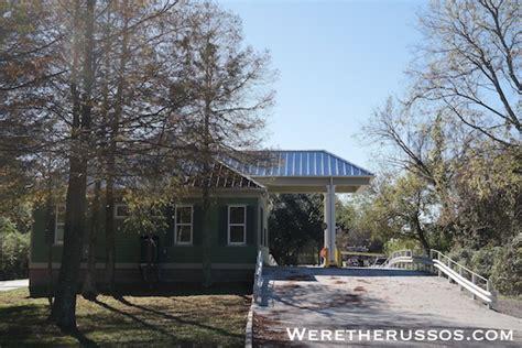 bayou segnette cabins rv cing at bayou segnette state park