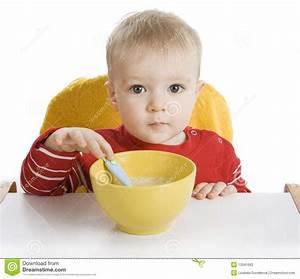 Boy Eating Breakfast Stock Photos - Image: 13341663