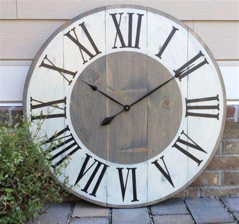 40580 farmhouse wall clock best 25 wall clocks ideas on big clocks