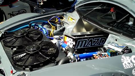 Mad Max Engine Diagram by 4 Rotor Mazda Rx 8 Time Attack Car Revving Engine At Seven