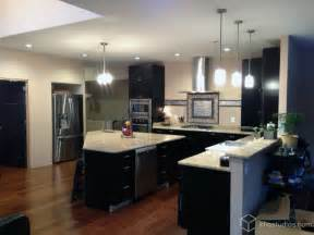 houzz kitchen island ideas black kitchen cabinets modern kitchen richmond by cliqstudios cabinets