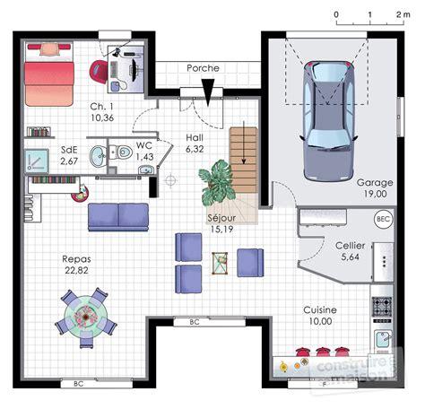 dessiner cuisine en 3d gratuit maison familiale 9 dé du plan de maison familiale 9