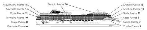 msc divina deck plan pdf piani nave msc divina
