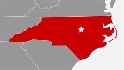 Carolina North State Raleigh Nc Map University
