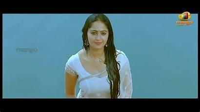 Saree Wet Anushka Shetty