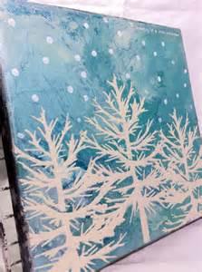 Easy Canvas Christmas Painting Ideas