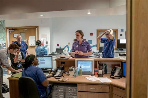 brexit hurts  nurses  doctors leaving london