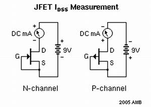 transistor matching With how to test fet8217s jfet and mosfet