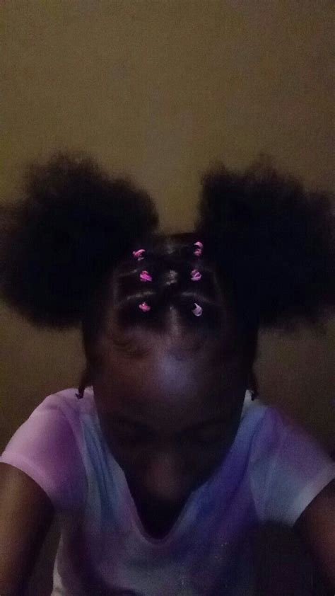 Rubber Band Hairstyles For by Includes Rubber Bands Any Color And 2 Puffs Hair And