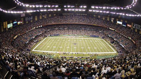 The domed stadium was conceived by local sports. Mercedes-Benz Superdome Mapa asientos, Imagenes, Direcciones, y Historia - New Orleans Saints - ESPN