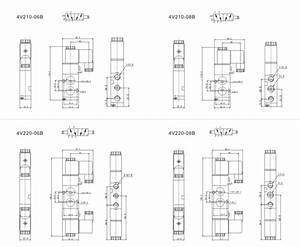 24vdc Airtac Solenoid Valve 4v210