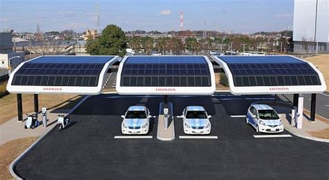 Solar-powered Charging Stations To Keep Your Ev Commutes
