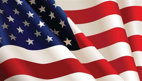 memorial flag displaying celebrate patriotic