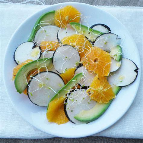 comment cuisiner le radis noir en salade