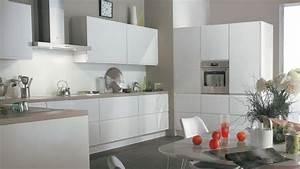frisch couleur mur cuisine blanche meuble de blanc quelle With meuble de cuisine blanc quelle couleur pour les murs