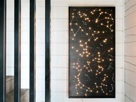 illuminated wall art  tos diy