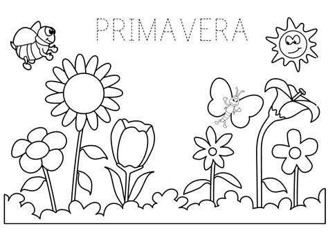 schede da colorare sulla primavera scuola dellinfanzia scuola schede didattiche scuola dell infanzia la