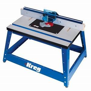 Router Table - Benchtop Router Table - Kreg Tool Company