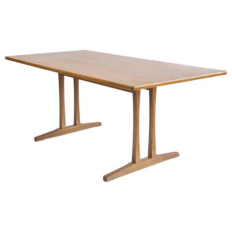 Shaker Table C18 By Børge Mogensen At 1stdibs. Bamboo Dining Table. Desks For Less. Beadboard Desk. Hamper Drawer. White Hallway Table With Drawers. Kitchen Island With Table Attached. Studio Desk. Girl Desk Accessories