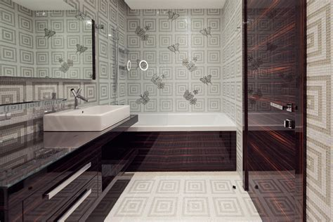 vinyl wallpaper bathroom hd wallpaper
