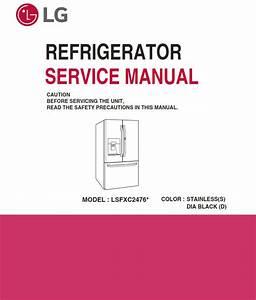Samsung Rz60 Rz80 Rz90 Series Refrigerator Service Man