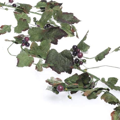 artificial grape leaf garland artificial greenery