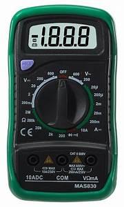 Digital Multimeter Mas830-digital Multimeters