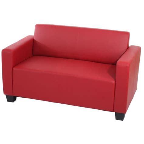 cdiscount canap 2 places canapé de 2 places lyon en simili cuir d achat