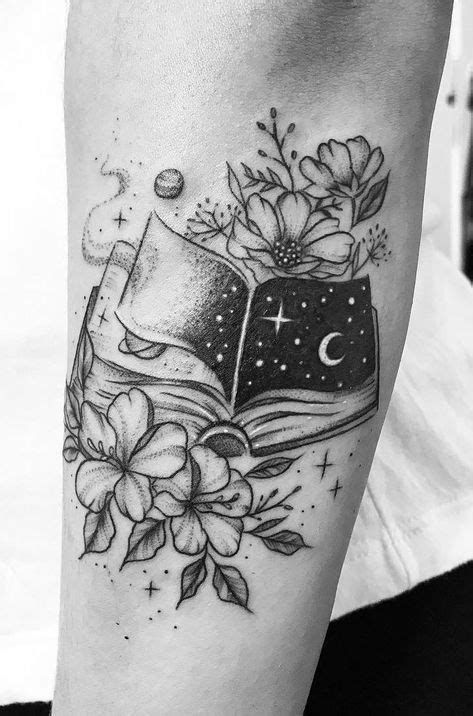 Awe-inspiring Book Tattoos for Literature Lovers | Chloe thingies ( ´ ` ) | Tattoos, Book tattoo