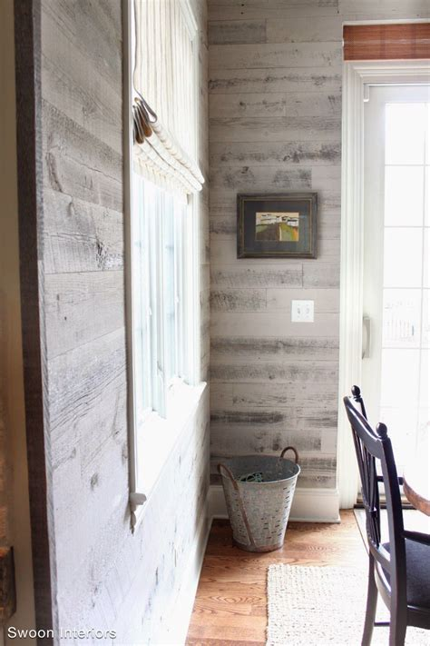 rustic modern wood wall paneling woodwaves