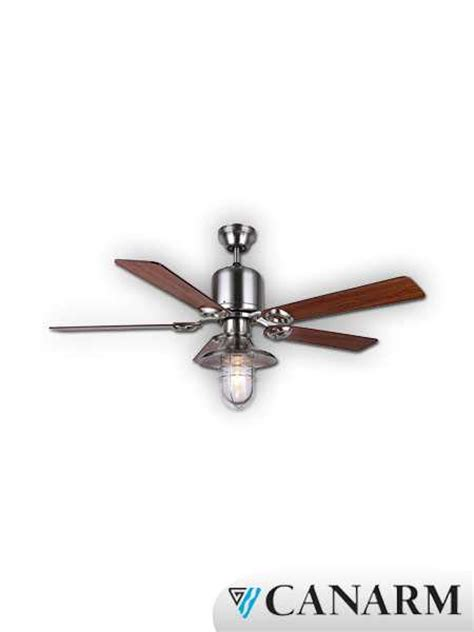 canarm sawyer series 48 quot ceiling fan brushed nickel