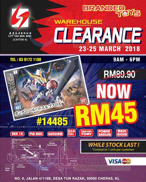 Eligible for free uk delivery. Litt Tak branded toys warehouse clearance at Kuala Lumpur ...