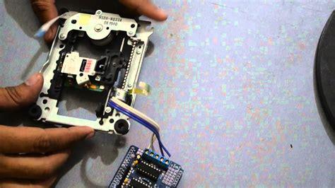drive cd rom stepper motor  arduino ld shield