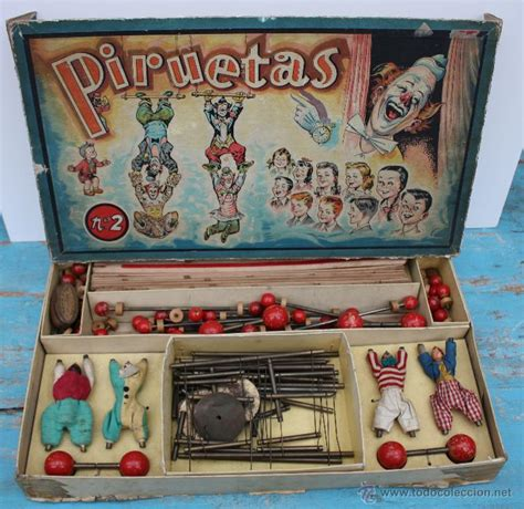 Estos juegos no por ser antiguos son peores, sino todo lo contrario. muy antiguo precioso y completisimo juego pirue - Comprar Juegos antiguos variados en ...