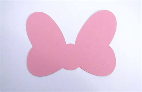Minnie Mouse Bow Die Cut (any Color Bow)- Disney's Minnie