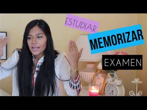 Los Mejores Trucostips Para Memorizar Y Estudiar Para Un Examen♡ Youtube