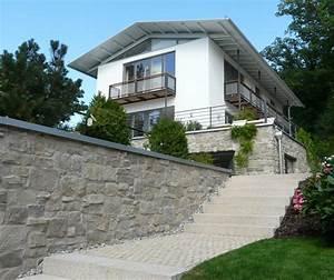 Haus Am Hang Bauen Stützmauer : haus am hang muenchenarchitektur ~ Lizthompson.info Haus und Dekorationen