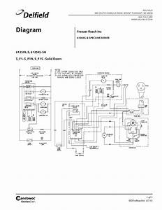 Freezer Reach Ins 6100xl Specline Series Wiring Diagram
