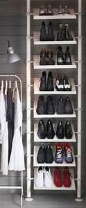 Regal Für Schuhe : ein diy schuhregal kann interessant und schick erscheinen ~ Sanjose-hotels-ca.com Haus und Dekorationen
