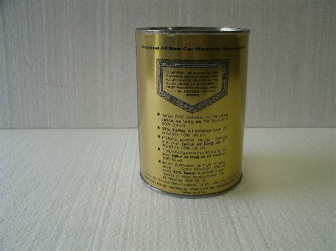 Sears Spectrum Motor Oil Can  John's Petro & Collectibles