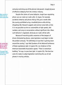Cover Page Of An Essay Mla Format Sample Paper 7th Edition Mlaformat Org