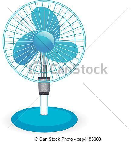 blowing fan clipart