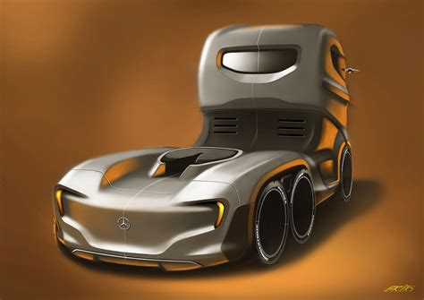 mercedes benz axor truck concept 04 cars one love