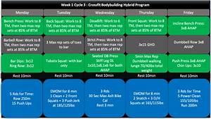 The 8 Week Crossfit Bodybuilding Hybrid Program  Part 3
