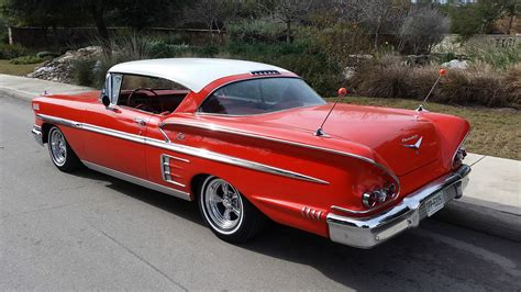 1958 Chevy Impala Sport Coupe 2 Door Hardtop 327 Sb 4