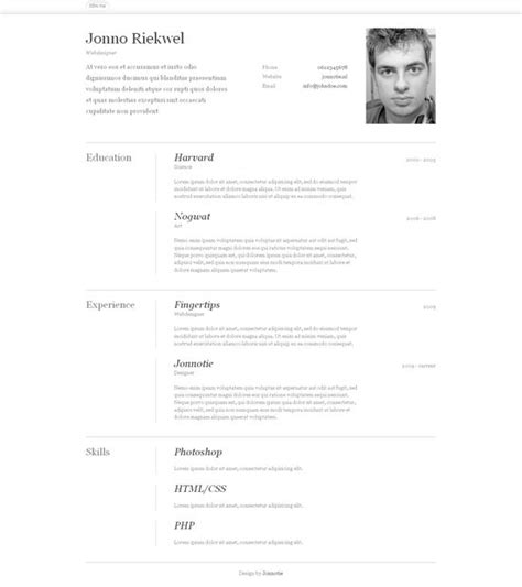 19602 attractive resume templates 111 best images about cv resume on graphic