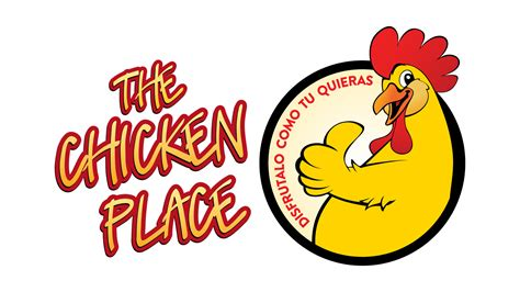 house layout the chicken place logo branding sublime digital graphic