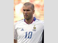 Zinedine Zidane fiche biographie ancien numero 10 Bleus