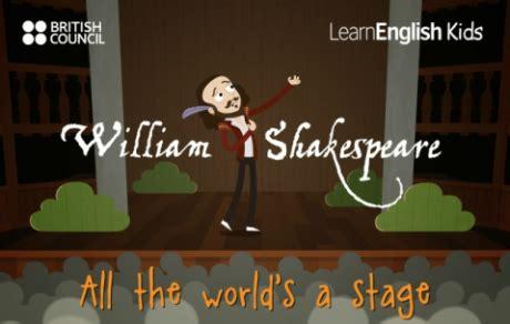william shakespeare  kids teachingenglish british