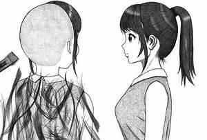 ponytail girl headshave part1 by paintyugi on DeviantArt ...